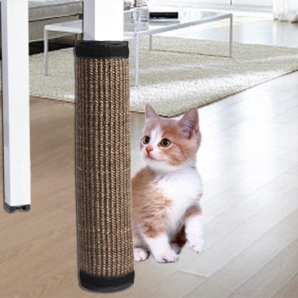 Wholesale Pet Cat Scratch Bed Mattess Scratching Board Protect Cat Paw  Furniture Table Chair Sofa Legs Cat Litter Catnip